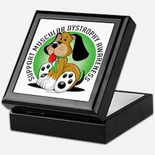 Muscular-Dystrophy-Dog Keepsake Box