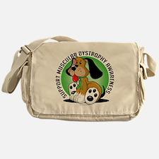 Muscular-Dystrophy-Dog Messenger Bag