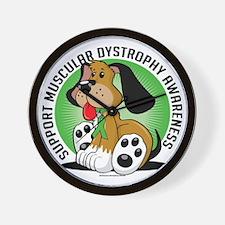 Muscular-Dystrophy-Dog Wall Clock