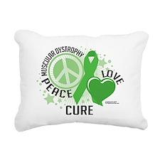 Muscular-Dystrophy-PLC Rectangular Canvas Pillow