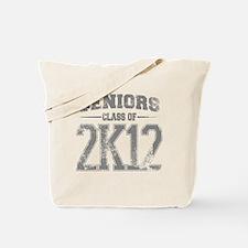 2k12_grey Tote Bag