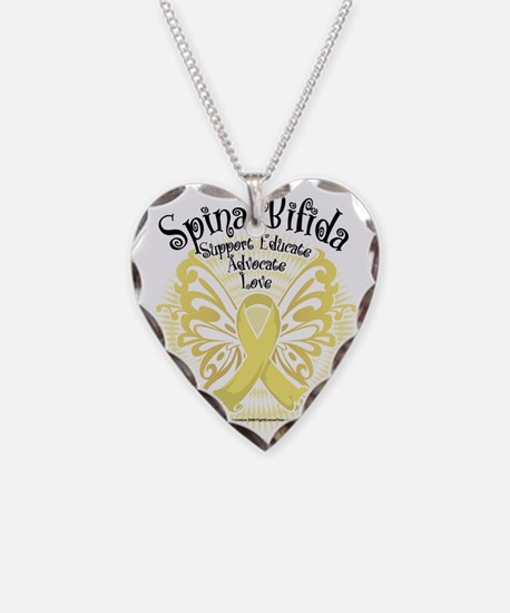 Spina-Bifida-Butterfly-3 Necklace