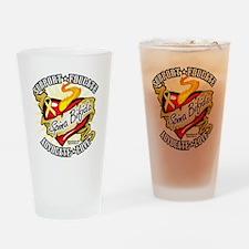 Spina-Bifida-Classic-Heart Drinking Glass