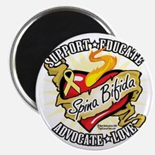 Spina-Bifida-Classic-Heart Magnet