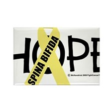 Spina-Bifida-Hope Rectangle Magnet
