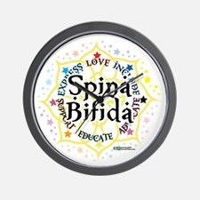 Spina-Bifida-Lotus Wall Clock
