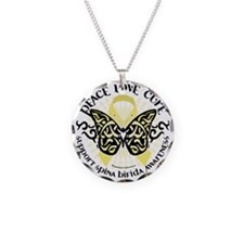 Spina-Bifida-Tribal-Butterfl Necklace