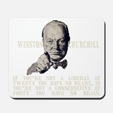 Churchill Liberals and Conservatives dar Mousepad