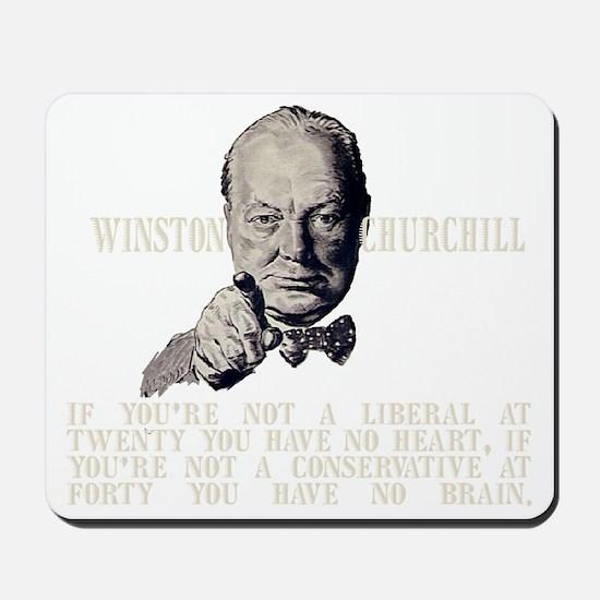 Churchill Liberals and Conservatives dar Mousepad