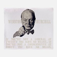 Churchill Liberals and Conservatives Throw Blanket
