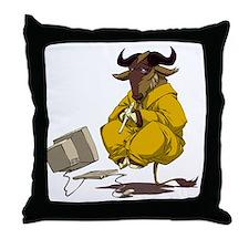meditate Throw Pillow