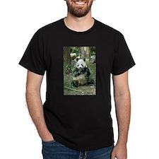 Panda Eating T-Shirt