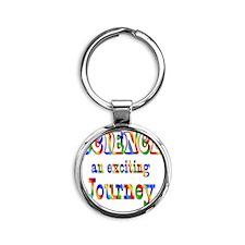 2-SCIENCE Round Keychain