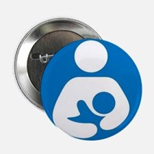 "National Breastfeeding Symbol 2.25"" Button (100 pa"