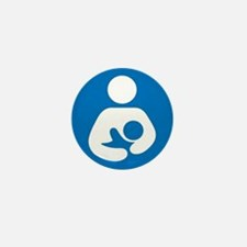 National Breastfeeding Symbol Mini Button (100 pac