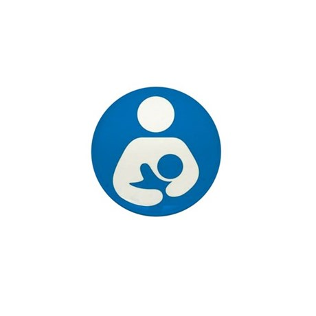 National Breastfeeding Symbol Mini Button (10 pack