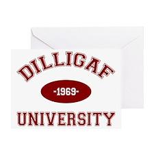 dilligaf Greeting Card