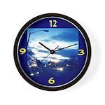 Baltimore Sundown Wall Clock