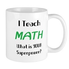 teach math Small Mug