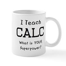 teach calc Small Mug