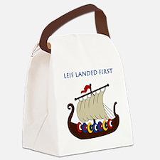 Leif2.GIF Canvas Lunch Bag