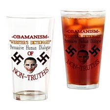 Obamanism Drinking Glass