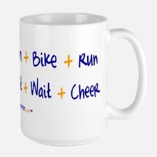 Triathlete vs. TriSupporter Mugs