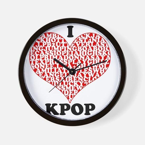 ilovekpop Wall Clock