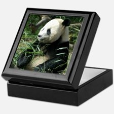 Panda Profile Keepsake Box