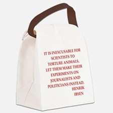 henrik ibsen quote Canvas Lunch Bag