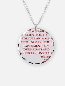 henrik ibsen quote Necklace