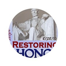 "Restoring Honor 2 PNG 3.5"" Button"