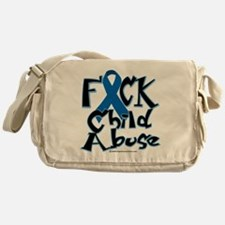 Fuck-Child-Abuse Messenger Bag