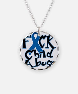 Fuck-Child-Abuse Necklace