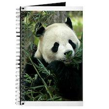 Panda Face Eating Journal