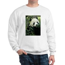 Panda Face Eating Sweatshirt