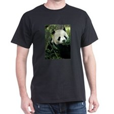 Panda Face Eating T-Shirt