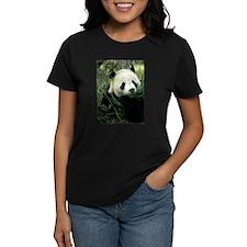Panda Face Eating Tee