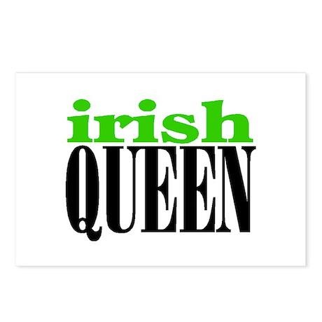 IRISH QUEEN Postcards (Package of 8)
