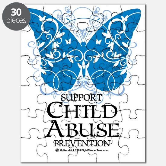 Child-Abuse-Butterfly Puzzle