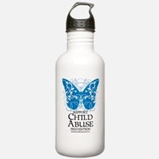 Child-Abuse-Butterfly Water Bottle