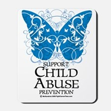 Child-Abuse-Butterfly Mousepad