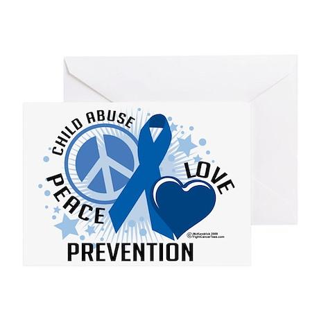 Child-Abuse-PLC Greeting Card