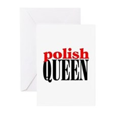 POLISH QUEEN Greeting Cards (Pk of 10)
