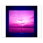 Purple Skies Small Poster