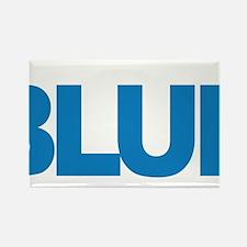 Child-Abuse-THINK-Blue-blk Rectangle Magnet