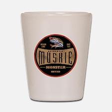 VintageMuskieLogo Shot Glass