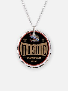 VintageMuskieLogo Necklace