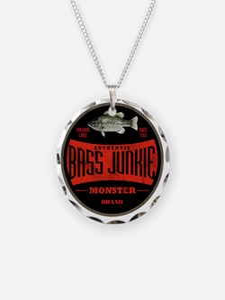 VintageBassLogo Necklace