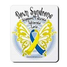 Down-Syndrome-Butterfly-3 Mousepad